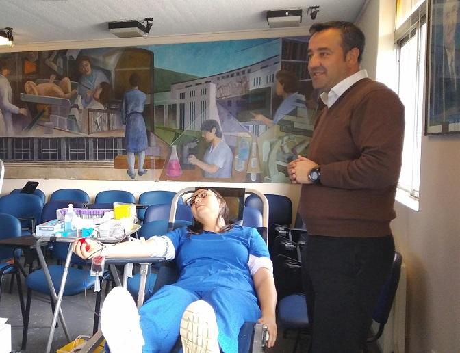 Personal De Salud Y Usuarios Del Cesfam VMF Participaron En Campaña De Donación De Sangre