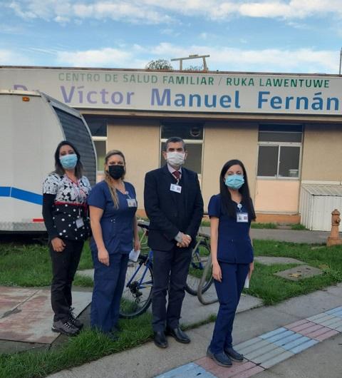 VMF Celebra El Día De La Enfermería