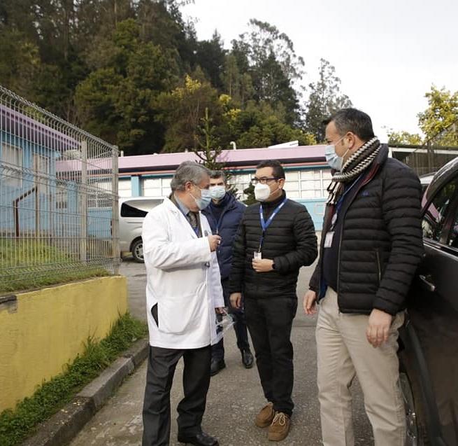 Servicio De Salud Concepción Realiza Testeo De PCR En Centro Del Sename