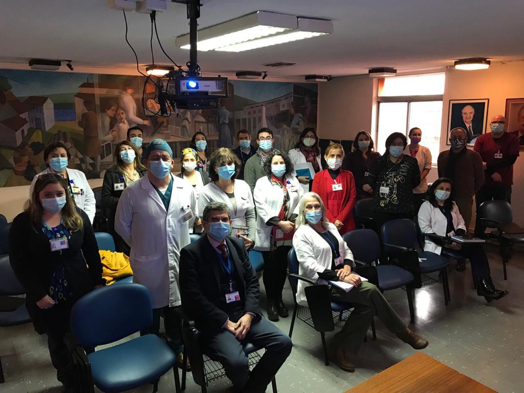 Cuerpo Directivo Se Reúne Con Jefes De Departamento Para Reforzar Labor De La Salud Primaria En La Pandemia