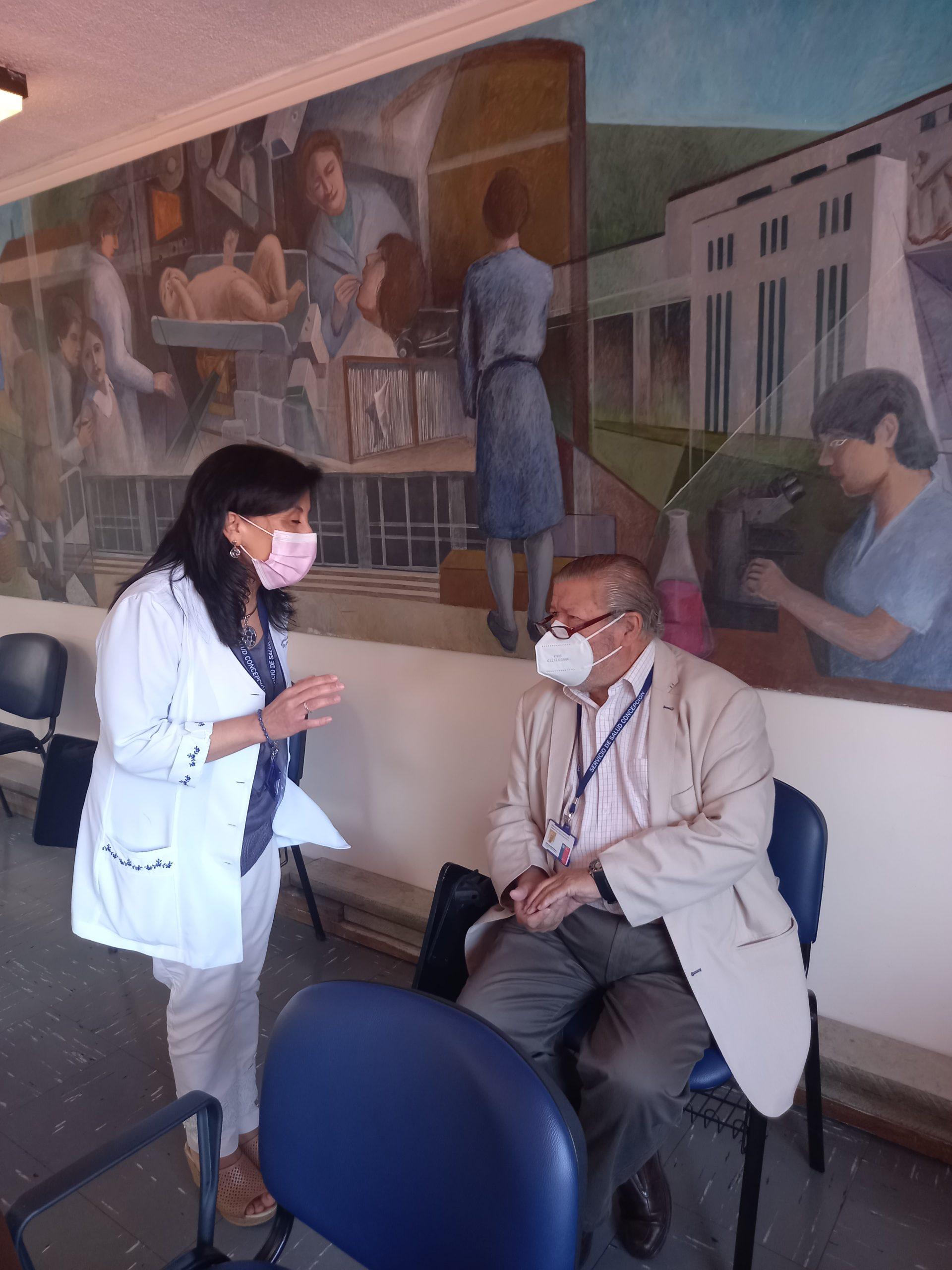 Avanza Proceso De Segunda Vacuna Para Funcionarios De CESFAM Dr. Víctor Manuel Fernández