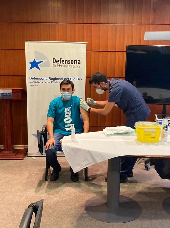 VMF VACUNA CONTRA LA INFLUENZA EN LA DEFENSORIA PENAL PUBLICA DE LA REGIÓN DEL BIO BIO