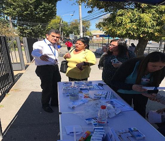 Operativo Preventivo De Enfermedades Respiratorias En Las Puertas Del CESFAM