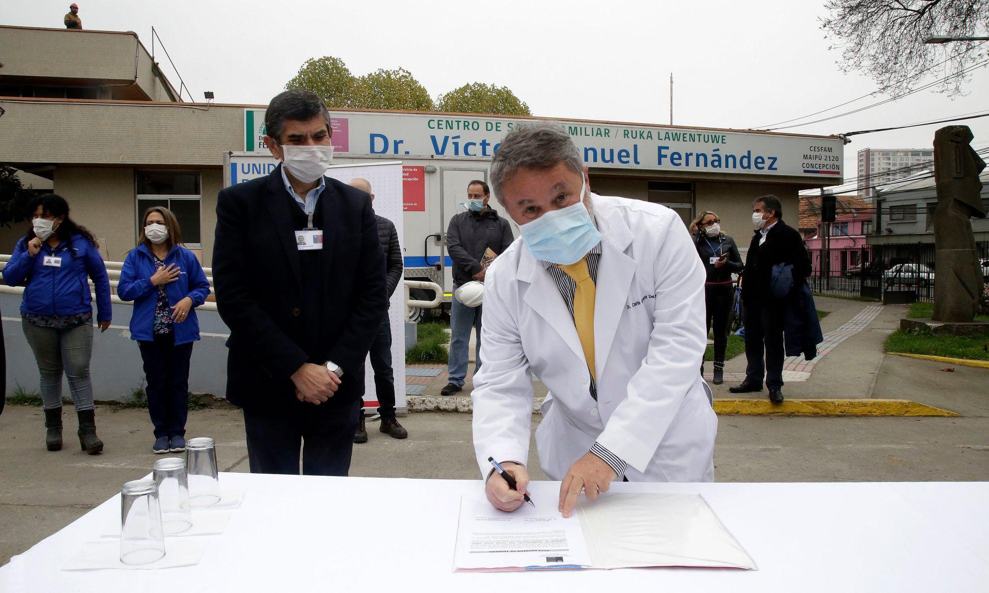 SS Concepción Invierte Más De $800 Millones En Infraestructuras En Atención Primaria Para Enfrentar Coronavirus