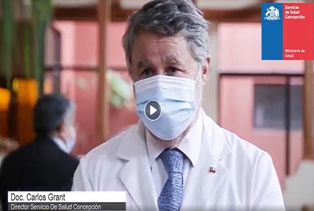 Operativo Del Servicio De Salud Concepción Realiza 51 PCR En Casa De Reposo Penquista