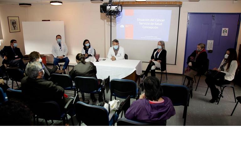 Servicio De Salud Concepción Y Nuevo Departamento De Cáncer: Se Enfocará En Detección Y Atención Temprana En La Atención Primaria De Salud